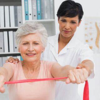 فیزیوتراپی و توانبخشی سالمندان